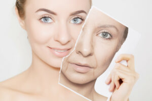 Hautalterung Grafik